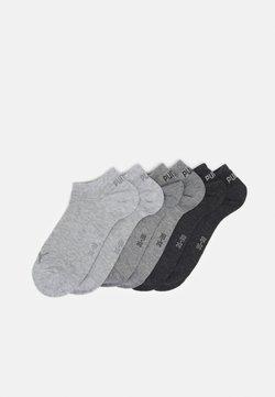 Puma - SNEAKER PLAIN 6 PACK UNISEX - Calcetines de deporte - grey combo