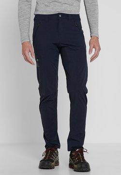 Salomon - WAYFARER TAPERED PANT - Pantalones montañeros largos - night sky