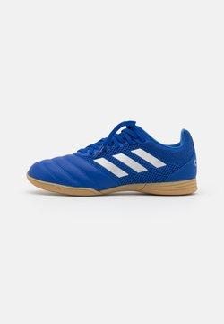 adidas Performance - COPA 20.3 FOOTBALL SHOES INDOOR UNISEX - Fußballschuh Halle - royal blue/silver metallic