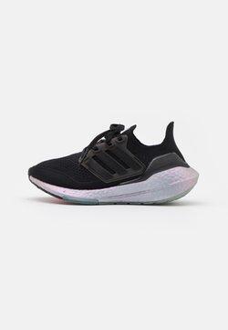 adidas Performance - ULTRABOOST 21 - Laufschuh Neutral - core black/blue oxide