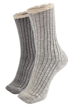 OYSHO - 2er-Pack - Socken - light grey