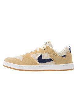 Nike SB - ALLEYOOP UNISEX - Skateschoenen - club gold/midnight navy/fossil/white/light brown