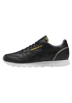 Reebok Classic - CLASSIC LEATHER SHOES - Sneaker low - black