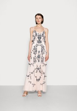 Adrianna Papell - BEADED BLOUSON GOWN - Robe de cocktail - pale pink