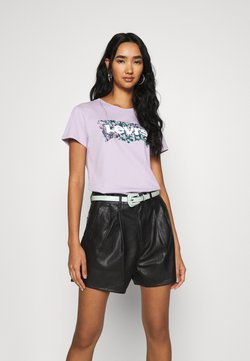 Levi's® - THE PERFECT TEE - T-Shirt print - purple