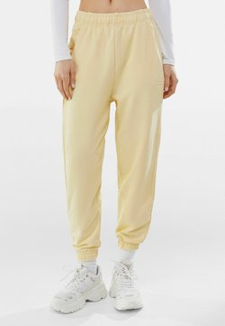 Bershka - Jogginghose - yellow
