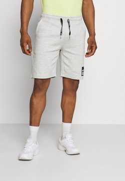Redefined Rebel - ANDRÉ - Shorts - light grey melange