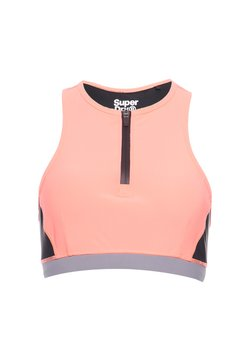 Superdry - Sport BH - phosphorescent coral