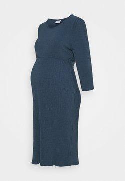 MAMALICIOUS - MLCAROLINE DRESS - Jerseykleid - vintage indigo