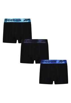 Reebok - 3 PACK - Bokserit - black/courtblue/navyaqua metallicwb
