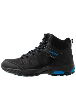 Hi-Tec - RAVEN MID WP - Outdoorschoenen - black/blue