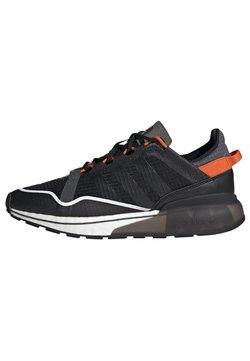 adidas Originals - ZX 2K BOOST PURE - Sneakersy niskie - core black grey six orange