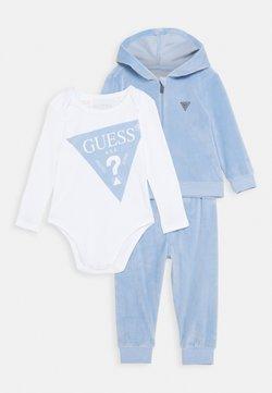 Guess - BABY SET UNISEX - Trainingsanzug - frosted blue