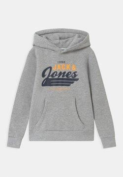 Jack & Jones Junior - JJELOGO - Hoodie - light grey melange