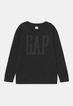 GAP - BOY LOGO CREW - Bluza - true black