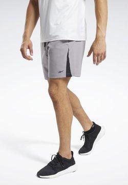 Reebok - WORKOUT READY SHORTS - kurze Sporthose - grey