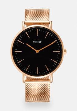 Cluse - BOHO CHIC - Montre - rose gold-coloured/black