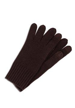 CASH-MERE - Fingerhandschuh - dunkelbraun