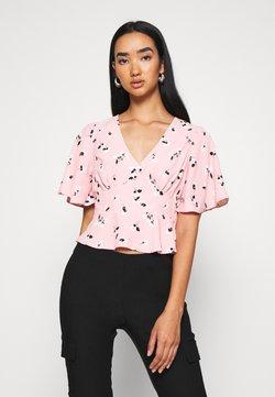 Miss Selfridge - FLORAL TEA - Bluse - pink