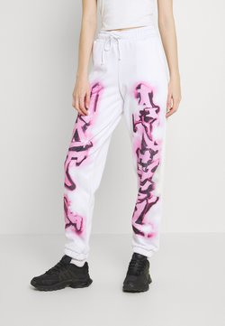 Jaded London - NOT YOUR PRINT JOGGERS - Jogginghose - pink