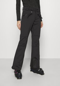 Superdry - SLALOM SLIM - Talvihousut - black