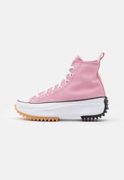 Converse - RUN STAR HIKE - Baskets montantes - lotus pink/white/black