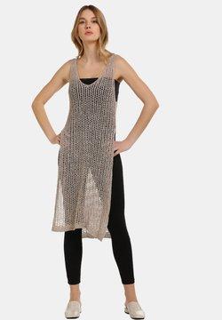 usha - Vestido de punto - taupe