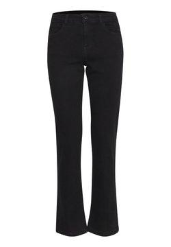 b.young - BYLOLA BYLUNI  - Bootcut jeans - black