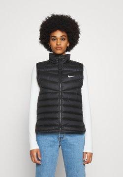 Nike Sportswear - DWN VEST - Weste - black/black/(white)