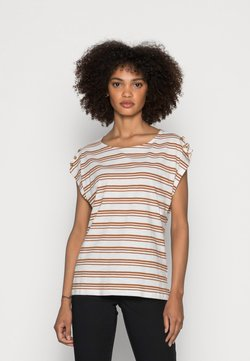 Esprit - BUTTON - T-Shirt print - off white