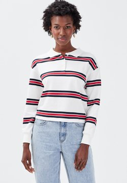 Cache Cache - MANCHES LONGUES - Poloshirt - blanc