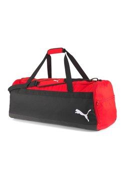 Puma - TEAMGOAL - Sporttasche - red -black