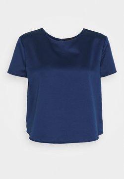 Emporio Armani - BLOUSE - Blouse - blu royal