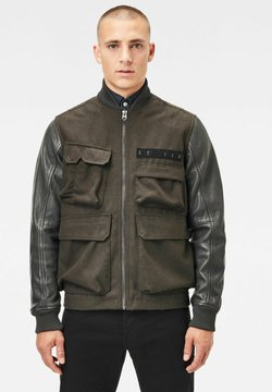 G-Star - MULTI POCKET VARSITY - Giubbotto Bomber - asfalt