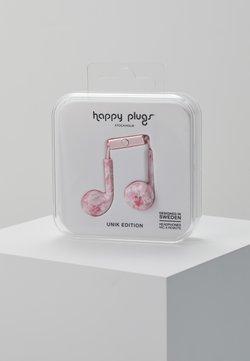 Happy Plugs - UNIK EARBUD PLUS - Høretelefoner - pink marble