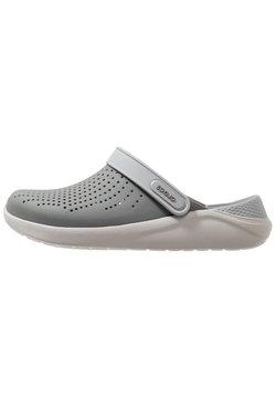 Crocs - LITERIDE CLOG - Clogs - smoke/pearl white