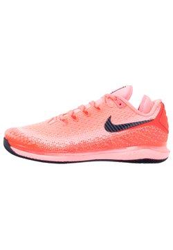 Nike Performance - NIKECOURT AIR ZOOM VAPOR X  - Buty tenisowe uniwersalne - laser crimson/blackened blue/pink