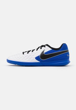Nike Performance - TIEMPO LEGEND 8 CLUB IC - Fußballschuh Halle - white/black/hyper royal/metallic silver