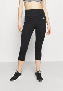 adidas Performance - 3/4 Sporthose - black/white