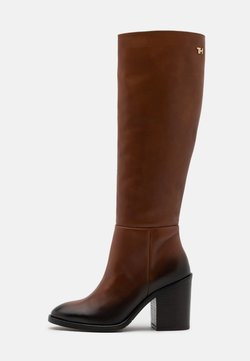 Tommy Hilfiger - LONG BOOT - High Heel Stiefel - pumpkin paradise