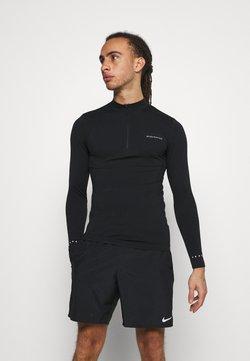 Endurance - JARO SEAMLESS MIDLAYER - Camiseta de manga larga - dark grey melange