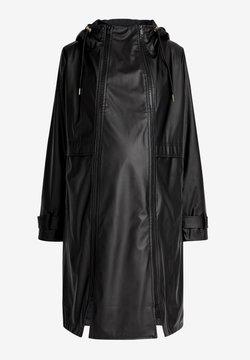 Next - Imiteret læderjakke - black