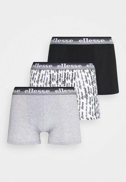 Ellesse - MENS PRINTED 3 PACK - Shorty - black/mono