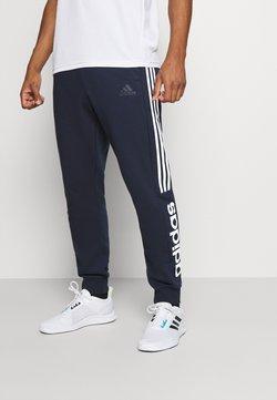 adidas Performance - ESSENTIALS TRAINING SPORTS PANTS - Jogginghose - LEGINK/WHITE