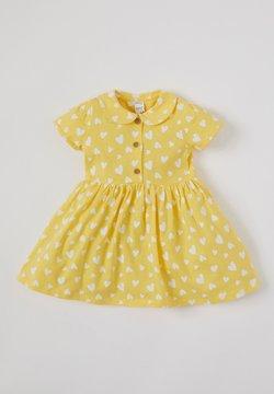 DeFacto - Blusenkleid - yellow