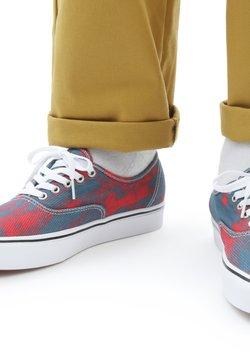 Vans - UA COMFYCUSH AUTHENTIC  - Sneakers basse - blue