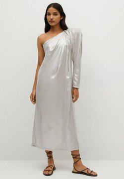 Mango - Vestito elegante - silber