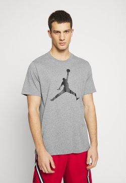 Jordan - T-shirt con stampa - carbon heather/black