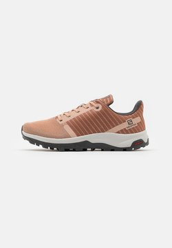 Salomon - OUTBOUND PRISM - Hikingschuh - sirocco/mocha mousse/alloy