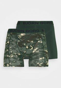Björn Borg - DIGITAL WOODLAND SAMMY 2 PACK - Panties - duck green